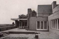 Villa Wolf in Guben, Germany (1927) Arch. Ludwig Mies van der Rohe