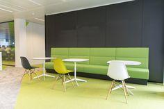Seat - Pedrali - Modus / Table - Enea - Lottus  / Chair -Vitra - Eames