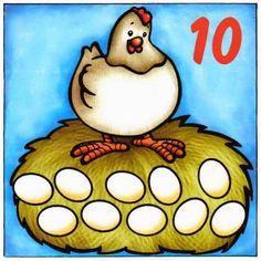 SGBlogosfera. María José Argüeso: Números Plein de représentations illustrés différentes des nombres de 1 à 10
