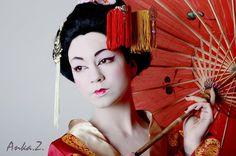 trucco geisha occhio orientale - Cerca con Google