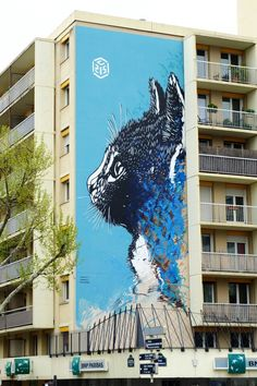 C215 - street art - Paris 13 - boulevard Vincent Auriol http://www.widewalls.ch/artist/c215/ #widewalls #C215