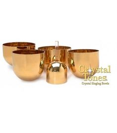 The Solid Gold Therapeutic Crystal Singing Bowl Series