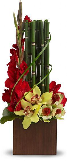 #Gladiole sind das Symbol für Kraft | #Inspiration #Arrangement