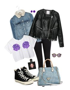 """My head is a JUNGLE"" by deserwina ❤ liked on Polyvore featuring Paige Denim, MANGO, GUESS, Disney, Converse, Proenza Schouler, Bling Jewelry and Yves Saint Laurent"