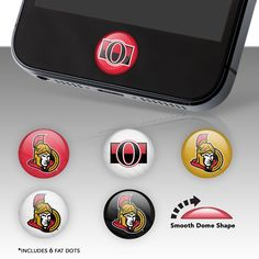 NHL Ottawa Senators from Fathead make a bold statement that cheap alternatives cannot compare to. Hockey Party, Ottawa, Nhl, Dots, Party Ideas, Clay, Phone Cases, Projects, Life