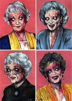 Zombie Golden Girls?  Yes, please.