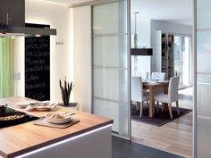 Raumteiler zur Küche. #Wohnwelten