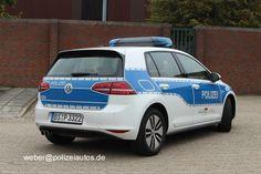 Polizeiautos.de - VW Golf VII GTE híbrido enchufable