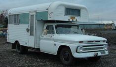 Classic Chevrolet Chinook Truck Camper