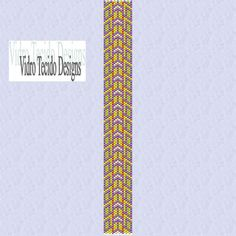 Peyote Stitch Bracelet Pattern  Mosaic 20 by vidrotecido on Etsy, $2.00