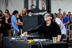 Skrillex live festival