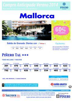 Mallorca, hasta 60% Compra Anticipada Hotel Piñero Tal, salidas desde Granada ultimo minuto - http://zocotours.com/mallorca-hasta-60-compra-anticipada-hotel-pinero-tal-salidas-desde-granada-ultimo-minuto/