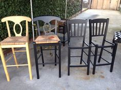 Chairs I found will use for my farm table