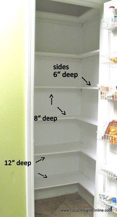 Kitchen Pantry Makeover DIY Installing Wood Wrap Around Shelving to Replace Wire Shelves
