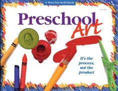 "Preschool Art: ""It's the Process Not the Product."""