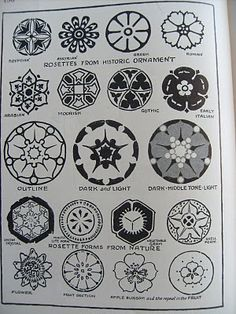 Inspiration from the 1920's: Rosettes