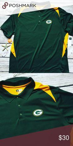 Green Bay Packers • Polo shirt TX3 Cool Size 2XL Green Bay Packers Green  Polo shirt 00558a812