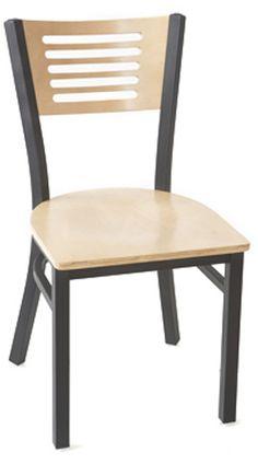 $39 (1-2 weeks)   Metal and Wood Index Chair