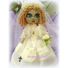 muñeca de comunión maria