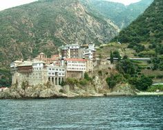 Google+ Mount Athos Monasteries Chalkidiki Greece Greece, Mansions, House Styles, Image, God, Google, Places, Viajes, Greece Country