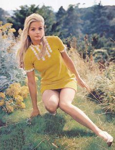 Ewa Aulin, vintage 60s mod style, mod dress, nordic vintage