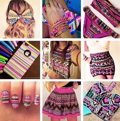 Moda étnica : ADOROOOO!