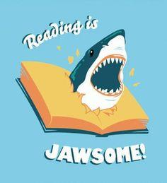 Super Bookworm Girl: Shark Week Is Awesome!