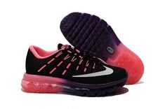 premium selection 3e26a 34e8f Nike Air Max 2016 Running Shoes for Women Purple Black Online