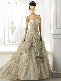 Brautkleider im Duchesse-Stil   miss solution Brautkleider-Galerie - Modell 7695 by COSMOBELLA