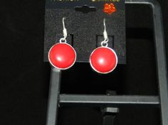 Check out this item in my Etsy shop https://www.etsy.com/listing/245474973/red-coral-charm-earrings