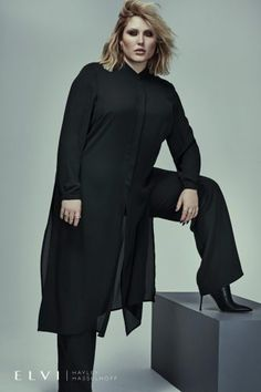 8d6a9f8c41bda First Look  Hayley Hasselhoff for UK Plus Size Brand