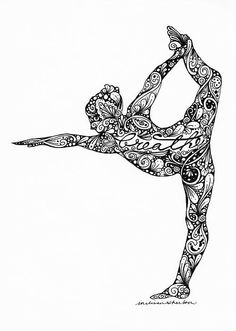 Breathe 02  pen and ink  © Melissa Sherbon  prints available here: http://fineartamerica.com/featured/breath-02-melissa-sherbon.html