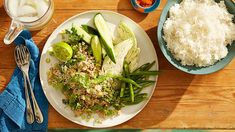 Thai-style pork larb with roasted rice Greek Recipes, Pork Recipes, Asian Recipes, New Recipes, Beans Recipes, Mince Recipes, Cabbage Recipes, Thai Recipes, Recipies