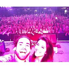 SnapWidget | Ahh! Had so much fun with @ustheduo tonight! And we got front & center for the concert selfie! #ustheduo #reposy #fondatheater #HollywoodMusicWeek