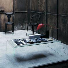 Coffee table Curvi by Glas Italia | dieter horn