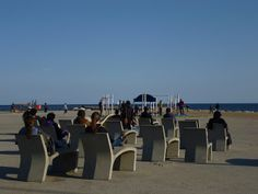 Relaxing in Barceloneta by Oh-Barcelona.com, via Flickr