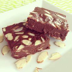 #paleo Salty Coconut Almond Fudge