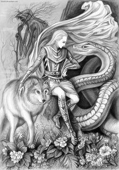 helheim norse mythology +hela - Google Search