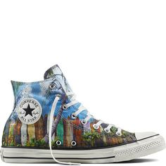 7d98fa4293d0 Chuck Taylor All Star Surfboard Print - Converse ES Jack Purcell