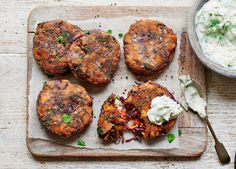 Transform your sweet potato with Indian spices and mellow paneer cheese, then serve with a refreshing yogurt dip for a winning dinner
