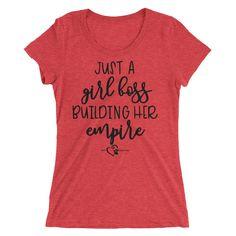 Boss Lady, Girl Boss, Dress Size Chart Women, Hooded Sweatshirts, Classic T Shirts, Neckline, Construction, T Shirts For Women, Sleeves
