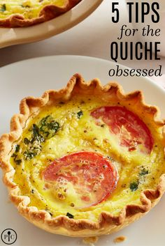Looking to bring a little quiche into your life? This decadent dish is as easy to perfect as it is fun to eat. Here are a few tips that will help you make the best quiche possible.