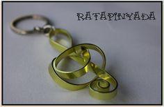 Musical Note Key Chain / Llavero Nota Musical   Ratapinyada   Flickr
