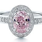 Vivid Pink Diamond Ring*  710K