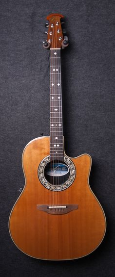 Used Ovation Custom Balladeer 1862 Acoustic Electric Guitar - $399.99