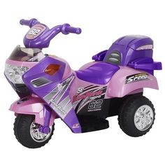 Best Ride On Cars Lil Pink Ride-On Motorcycle | Overstock™ Shopping - The Best Prices on Best Ride On Cars Powered Riding Toys