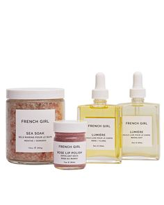 Take her to Paris, figuratively speaking, with French Girl Organics, a bath-and-skin-care line inspired by the sights and smells of France (think rose-scented lip polish, body oil, and French sea salts for soaking).    From $15 each, frenchgirlorganics.etsy.com