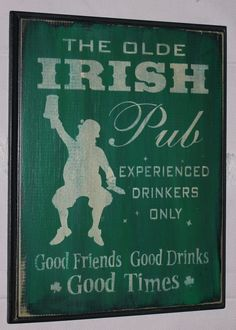 St. Patrick's Day - this is hilarious! I need to come up with something similar.