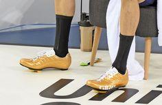 Bradley Wiggins Hour Record socks