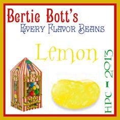 Bertie Bott's Lemon Bean: Lemons 3 Ways